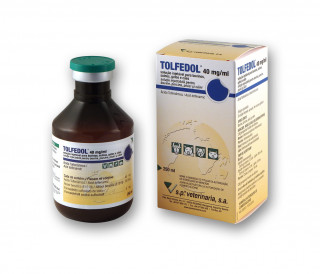 TOLFEDOL 40 mg/ml, solution for injection for cattle, pigs, cats and dogs